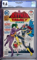 Batman Family #9 CGC 9.6 w Davie Collection