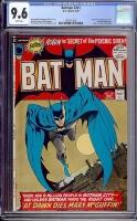 Batman #241 CGC 9.6 w Davie Collection