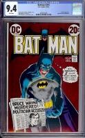 Batman #245 CGC 9.4 w Davie Collection