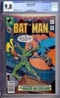 Batman #317 CGC 9.8 w Davie Collection