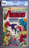 Avengers #141 CGC 9.6 w Davie Collection