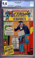 Action Comics #371 CGC 9.4 w Davie Collection