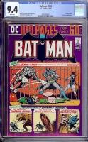 Batman #256 CGC 9.4 w Davie Collection