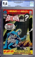 Brave and the Bold #95 CGC 9.6 w Davie Collection