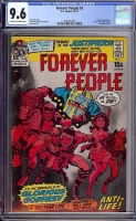 Forever People #3 CGC 9.6 ow/w Davie Collection