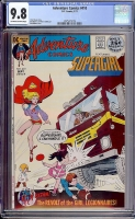 Adventure Comics #410 CGC 9.8 ow/w Davie Collection