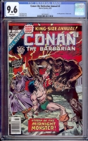 Conan the Barbarian Annual #2 CGC 9.6 w Davie Collection