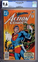 Action Comics #485 CGC 9.6 w Davie Collection