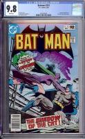 Batman #323 CGC 9.8 w Davie Collection