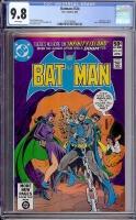 Batman #334 CGC 9.8 w Davie Collection
