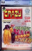 Crazy #1 CGC 9.8 w