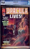 Dracula Lives #9 CGC 9.8 w