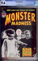 Monster Madness #3 CGC 9.6 w