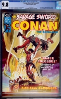 Savage Sword of Conan #2 CGC 9.8 w