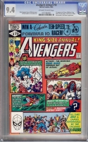 Avengers Annual #10 CGC 9.4 ow/w