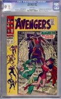 Avengers #47 CGC 9.8 w