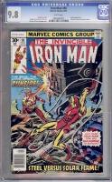 Iron Man #98 CGC 9.8 w