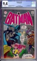 Batman #222 CGC 9.4 w Davie Collection