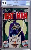Batman #242 CGC 9.4 w Davie Collection
