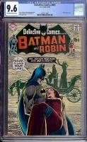 Detective Comics #403 CGC 9.6 ow/w