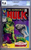 Incredible Hulk #104 CGC 9.6 ow/w