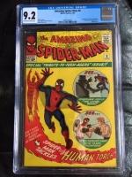 Amazing Spider-Man #8 CGC 9.2 ow/w