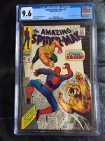 Amazing Spider-Man #57 CGC 9.6 ow/w
