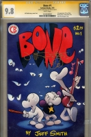 Bone #1 CGC 9.8 w CGC Signature SERIES
