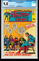Action Comics #386 CGC 9.8 ow/w