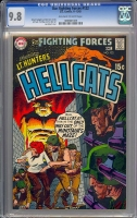 Our Fighting Forces #122 CGC 9.8 ow/w