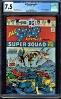 All Star Comics #58 CGC 7.5 ow/w