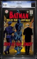 Batman #206 CGC 9.8 w
