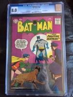 Batman #123 CGC 8.0 ow/w