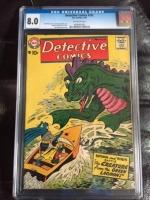 Detective Comics #252 CGC 8.0 ow