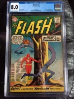 Flash #112 CGC 8.0 ow/w