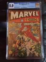 Marvel Mystery Comics #35 CGC 5.0 ow/w