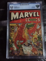 Marvel Mystery Comics #41 CBCS 5.0 cr/ow