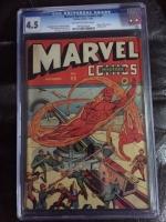 Marvel Mystery Comics #49 CGC 4.5 ow/w