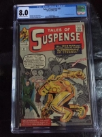 Tales of Suspense #41 CGC 8.0 ow/w