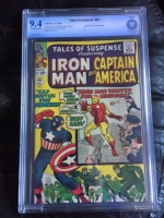 Tales of Suspense #60 CBCS 9.4 ow/w