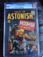 Tales to Astonish #23 CGC 8.0 cr/ow