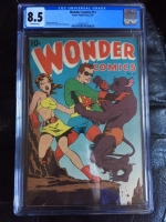 Wonder Comics #11 CGC 8.5 ow