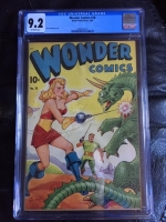 Wonder Comics #18 CGC 9.2 ow