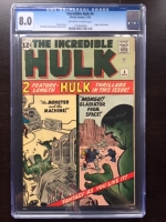 Incredible Hulk #4 CGC 8.0 ow/w