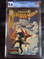 Amazing Spider-Man #74 CGC 9.6 ow/w