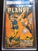 Planet Comics #45 CGC 3.5 ow/w