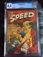 Speed Comics #42 CGC 3.5 ow