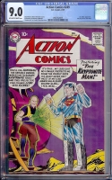 Action Comics #249 CGC 9.0 ow/w