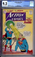 Action Comics #254 CGC 9.2 cr/ow