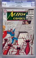 Action Comics #296 CGC 9.6 ow/w